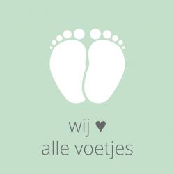 Wij houden van alle voetjes